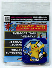 "POKEMON JETON ""COUNTER"" - TAKARA TOMY ARTS PIKACHU N° P BLEU MARINE 2014 Sealed"