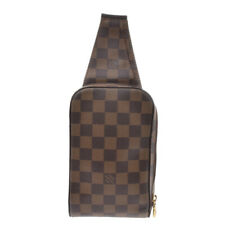 LOUIS VUITTON Damier geronimos body bag Brown N51994 Bag 800000083494000