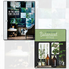Botanical Style and In the Mood for Colour 2 Books Collection Set NEW Hardcover