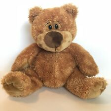 "GUND 10"" Plush SIDNEY BEAR GOLD 15350 Teddy Brown Sitting Vtg Stuffed Animal Toy"