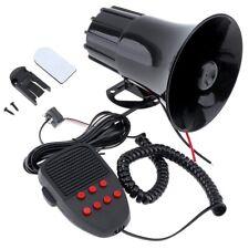 100W 12V 7 Sounds Car Truck Speaker Warning Alarm Police Fire Siren Horn Lo Q4D9