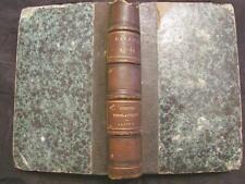 Honoré de Balzac Les contes drolatiques ez abbayes de touraine michel levy 1865