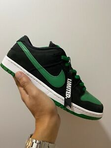 Size 10- Nike SB Dunk Low Pro Black Pine 2019