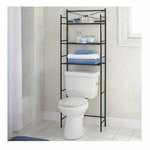 Over Toilet Bathroom Storage Rack Space Saver Shelf