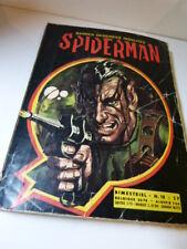 bandes dessinées insolites, spiderman  , N°18  ,1970 (car15)