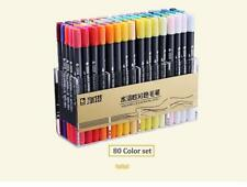 Brush Markers Dual Head Watercolor Pen Sketch Drawing Paint Art