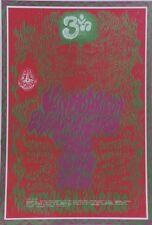 """""""VAN MORRISON"""" Affiche U.S. originale entoilée Wes WILSON 1967  40x55cm"""