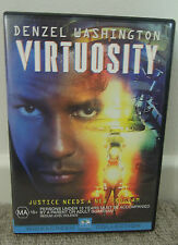 Virtuosity (DVD, 1995) Russell Crowe, Denzel Washington (Like New, R4)