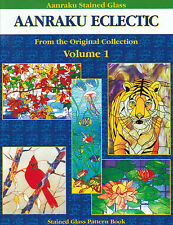 AANRAKU ECLECTIC Volume 1 Stained Glass Pattern Book Great Mixed Patterns