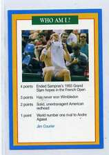 (Jj203-100) RARE Trade Card Premier of Jim Courier, Tennis 1997 MINT