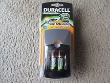 Brand New Duracell Rechargeable Go Mobile Charger w/2 AA & 2 AAA Rechargeable