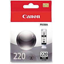 2 pack NEW Canon PGI-220 PGI-220BK Black Ink Cartridge 2pack GENUINE