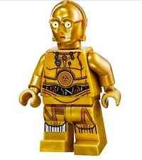 LEGO STAR WARS MINIFIGURINE C-3PO en couleur câbles Sandcrawler 75059 NEUF RARE