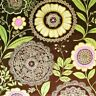 OOP Lotus - Lacework Brown by Amy Butler, 100% cotton fabric