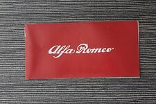 (164A) Dépliant ALFA ROMEO Alfasud Giulia Alfetta Spider...