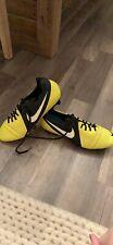 Nike CTR360 Trequartista III FG Soccer Cleats, Yellow/Black, Men's 11.5 US