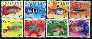 Surinam Scott 504-508,C85-C87 tropical fish MNH 1978