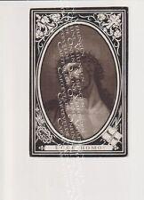 Oud Doodsprentje DP J-J D'Hooghe Geeris D'Hane Van Roeyen Meerdonk 1868
