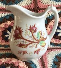 New listing Antique Oh 1880 Ironstone Pitcher Moss Rose Potters Cooperative Co E. Liverpool