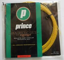 NOS PRINCE SYNTHETIC GUT 17 GAUGE DURAFLEX  NATURAL TENNIS RACQUETBALL STRINGS
