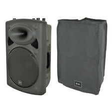"""QTX QR12K 300W Powered Active 12"""" PA Speaker or Monitor + Mixer + Cover 11.2Kg"""
