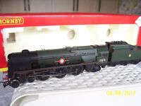 ' HORNBY MERCHANT NAVY CLASS -  BRITISH INDIA LINE ' LOCO AND TENDER '