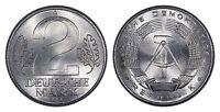 GERMAN DEMOCRATIC REPUBLIC (DDR) 2 MARK 1957-A (CHOICE UNC) *PREMIUM QUALITY*