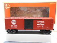 LIONEL 6-26241 NORFOLK AND WESTERN STARTER BOXCAR  C8 #358 >