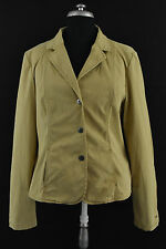 TOMMY HILFIGER Women`s Jacket Long Sleeve Collared Beige Size 10