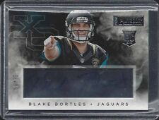 BLAKE BORTLES 2014 PLAYBOOK XO ACETATE JAGUARS ON CARD ROOKIE AUTO RC #D 50/75