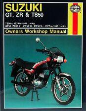 Haynes Manual 0799 - Suzuki GT50, ZR50 & TS50 (77 - 90) workshop/service/repair