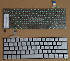 NEW For ACER Aspire S7-391 S7-392 Keyboard US Backlit Silver