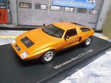 Mercedes Benz c111-i C 111 MKI Orange Wankel 1969 Bos Resin 1:43