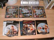GTA Grand Theft Auto 4 IV + Episodios De Liberty City + 5 V.. PS3 Juegos