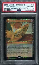 Lotus Petal Kaladesh Inventions Masterpiece Foil PSA 8 Mint MTG BGS Tempest