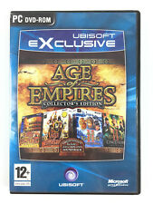 Age of Empires 1 + II 2 The Age of Kings Gold Edition + Conqueros Jeu PC