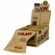 Raw Rolling Paper Artesano King Size Tray Papers Tips X10