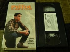 "The Pistol: The Birth of a Legend (VHS, 1990) LSU ""Pete Maravich"" NCAA NBA"