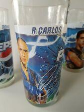 Roberto Carlos Pepsi Cola Glass Real Madrid Brazil