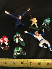 Wilton Baseball Cake Toppers, Vintage, 3-1976, 4-1981, Made In Hong Kong