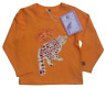 Animal Tails Ethical organic Fair Snow Leopard Yellow Long Sleeve top (6-12 m)