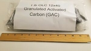 2 lb bulk OLC 12x40 Granulated Activated Carbon (GAC) Charcoal water filtration