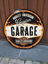 """Horloge """"Harley Davidson"""" de 60 cm en bois"""