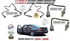 FOR LEXUS  LS400 1UZ-FE 1994-2000  2 X FRONT +2  X REAR 02 OXYGEN LAMBDA SENSOR