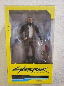 "Mcfarlane Cyberpunk 2077 TAKEMURA 7"" Action Figure Wave Series 2 NEW SEALED"