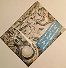 """Vintage Booklet 1939 New York World's Fair """"The World Of Tomorrow"""" -- 2269"""