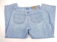 Anchor Blue Baggy Vtg 90s Light Skater Grunge Street Jeans Mens 36x32 (34x31)