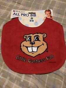 Minnesota Gophers Littlest Fan All Pro Baby Bib