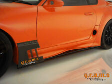 Toyota Supra Ridox Style Side Skirts with REAL CARBON Lower Lip v6
