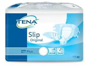 Tena Slip Original Plus Large/L - 1 Pack (30 St Green Piece)